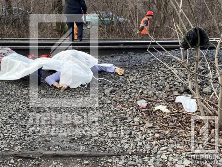 Розрізало навпіл: у Кривому Розі жінка лягла під потяг (фото 18+)